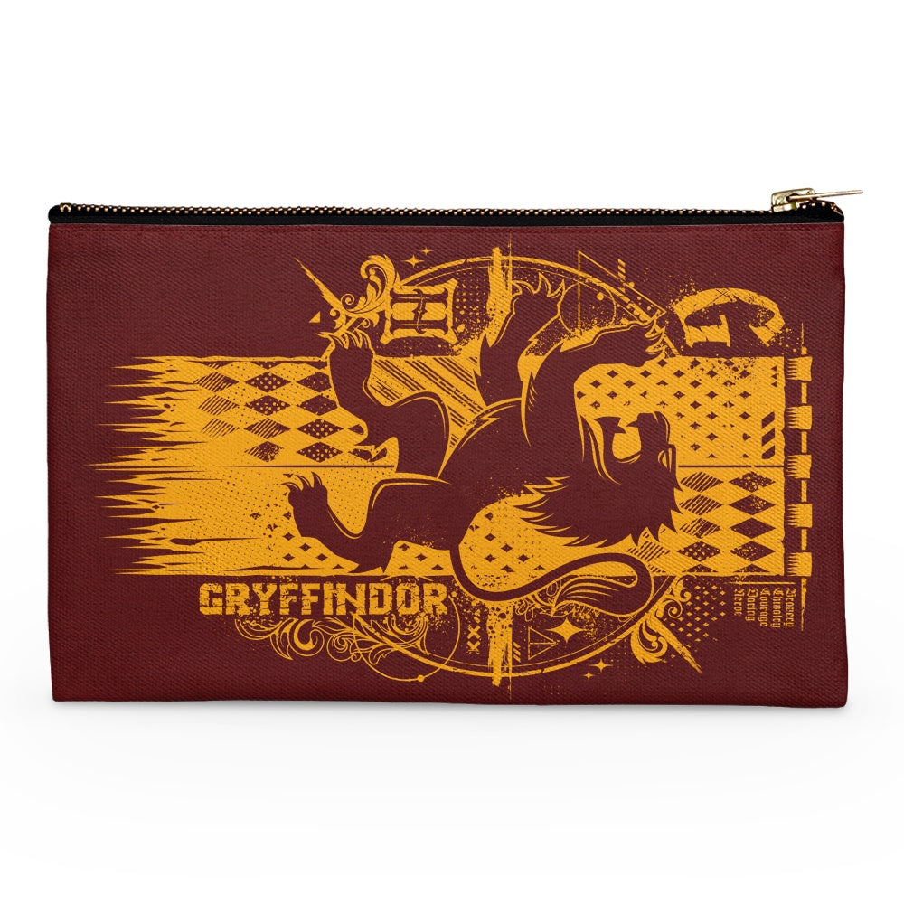 Bravery, Chivalry, and Courage - Accessory Pouch