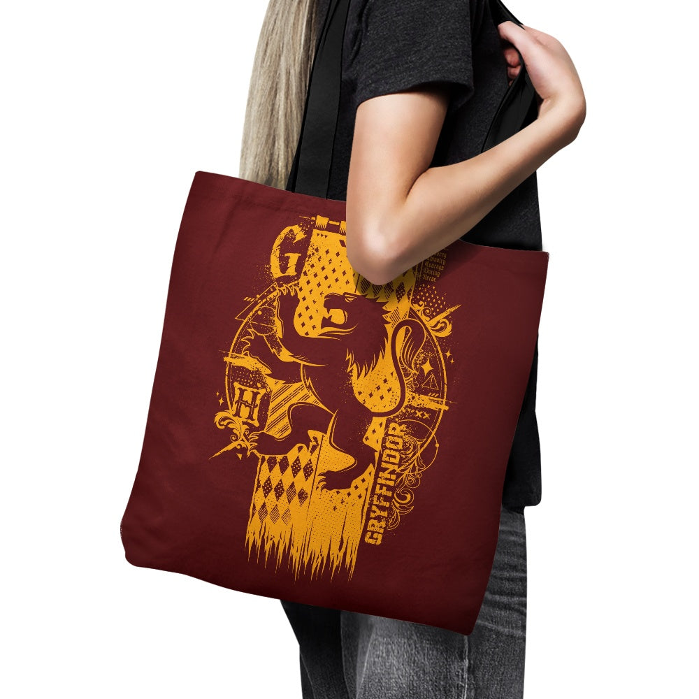 Bravery, Chivalry, and Courage - Tote Bag