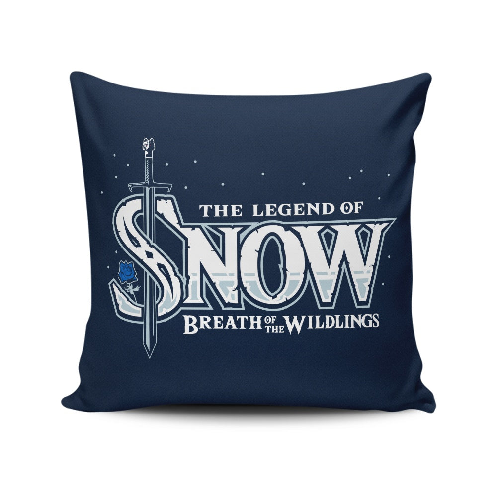 Breath of the Wildlings - Throw Pillow