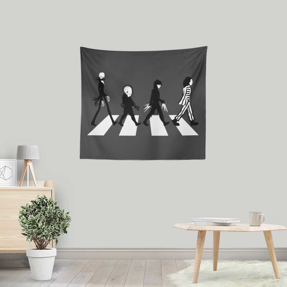 Burton Road - Wall Tapestry