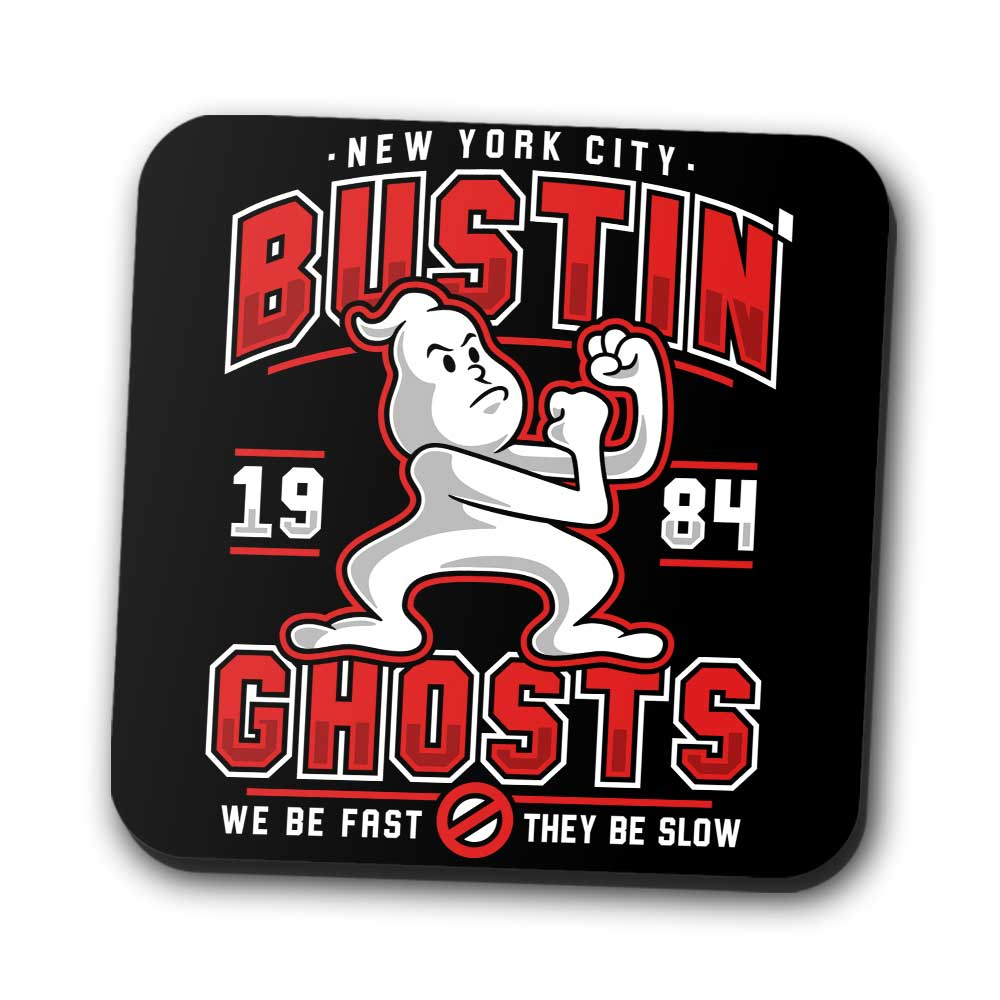 Bustin' Ghosts - Coasters