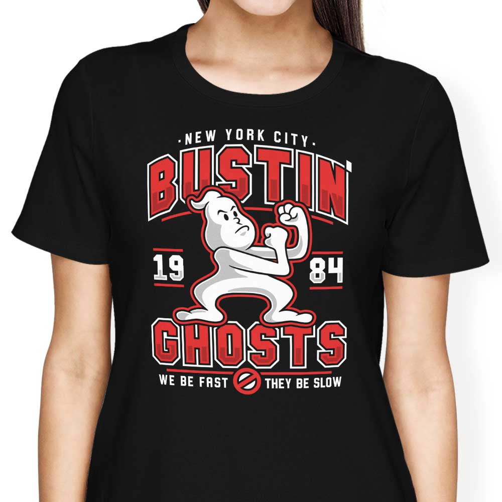 Bustin' Ghosts - Women's Apparel
