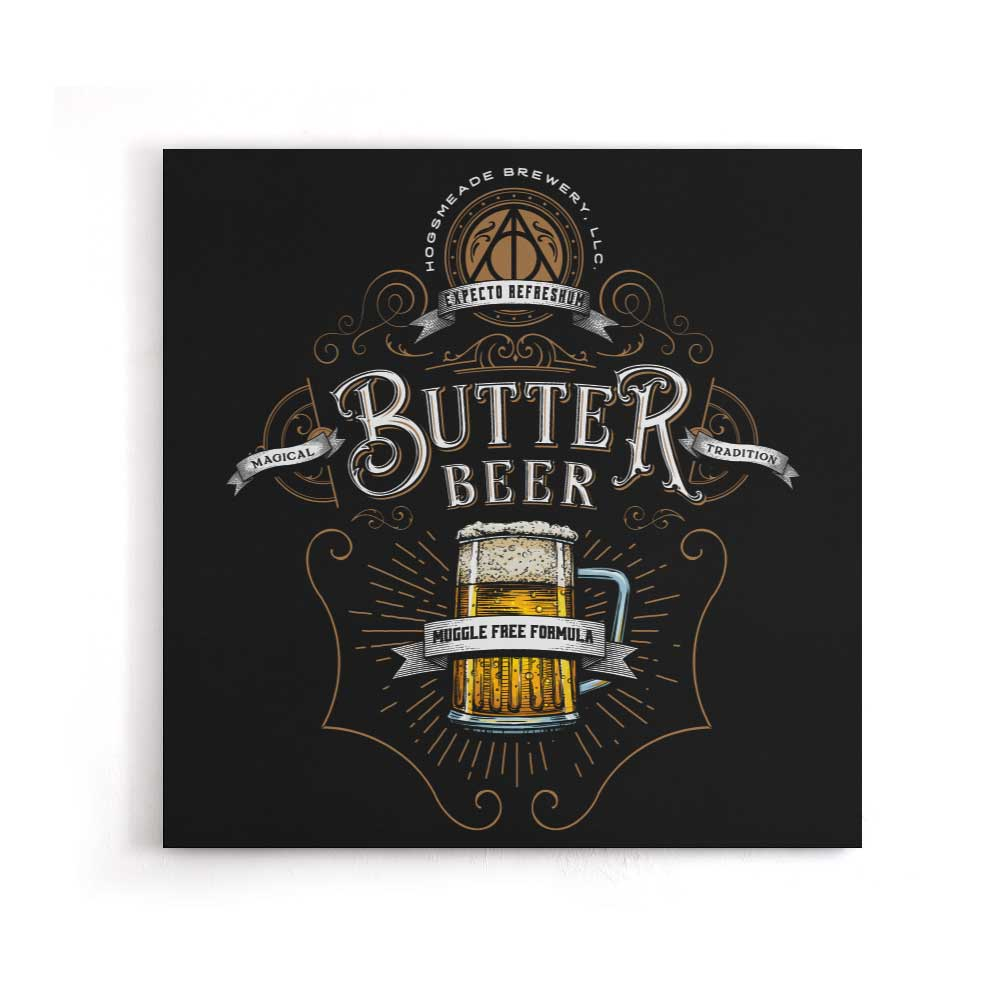 Butterbeer - Canvas Print
