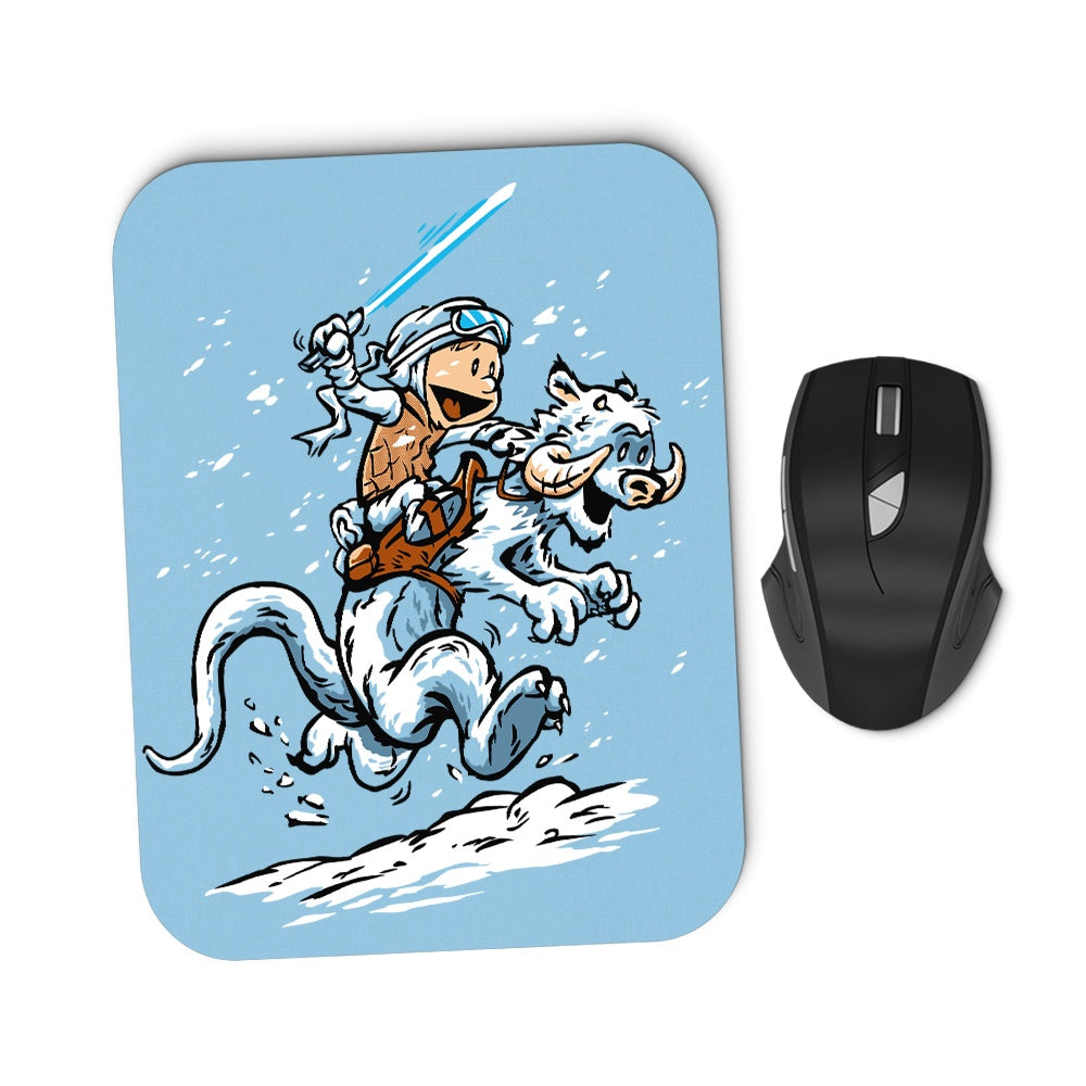 Calvin and Hoth (Alt) - Mousepad