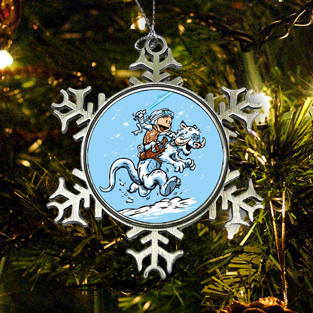 Calvin and Hoth (Alt) - Ornament
