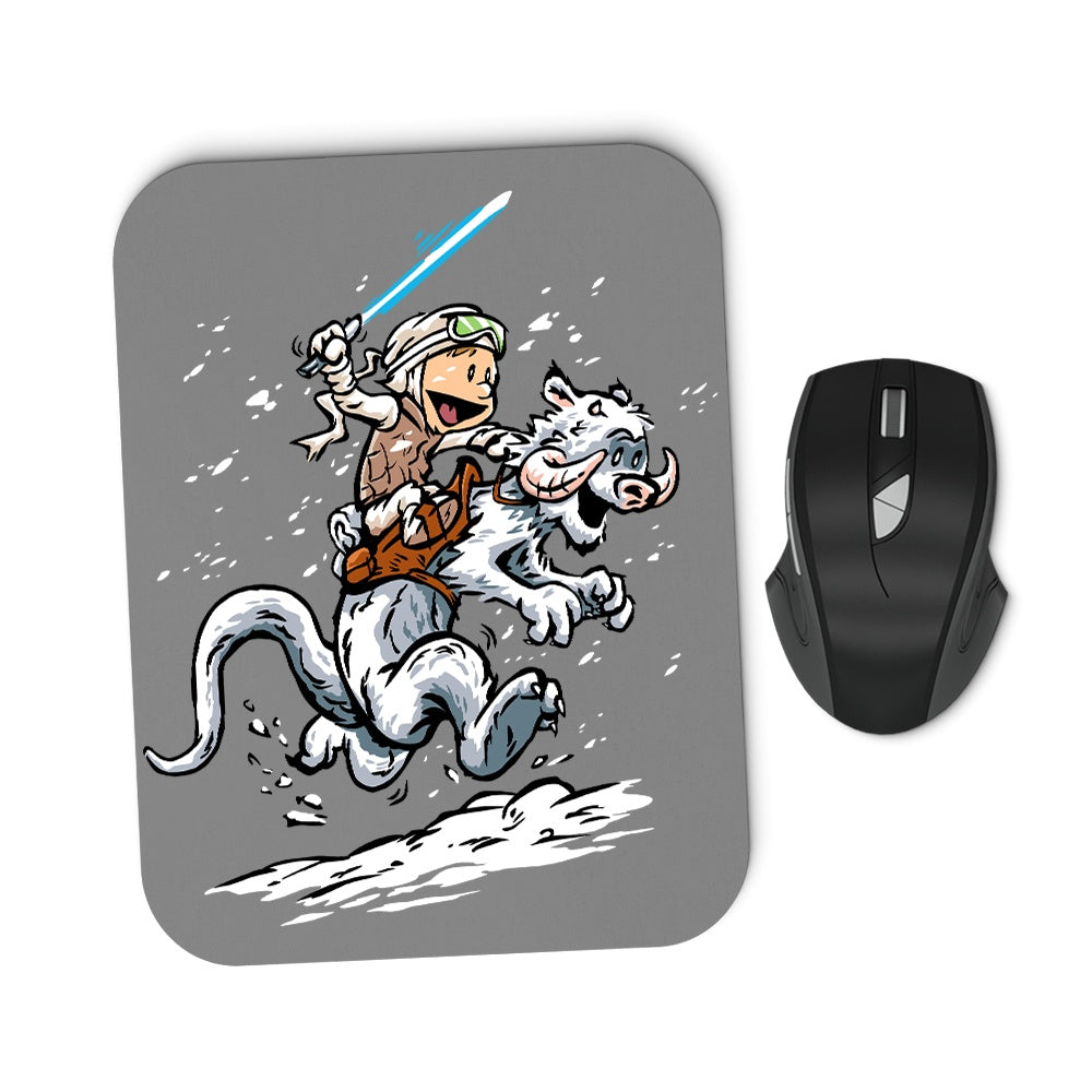 Calvin and Hoth - Mousepad