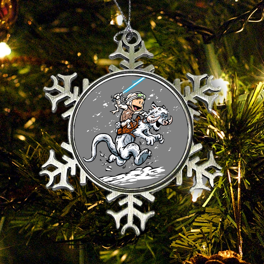 Calvin and Hoth - Ornament