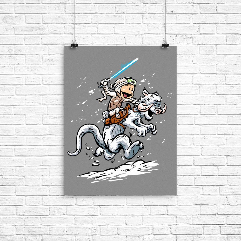 Calvin and Hoth - Poster