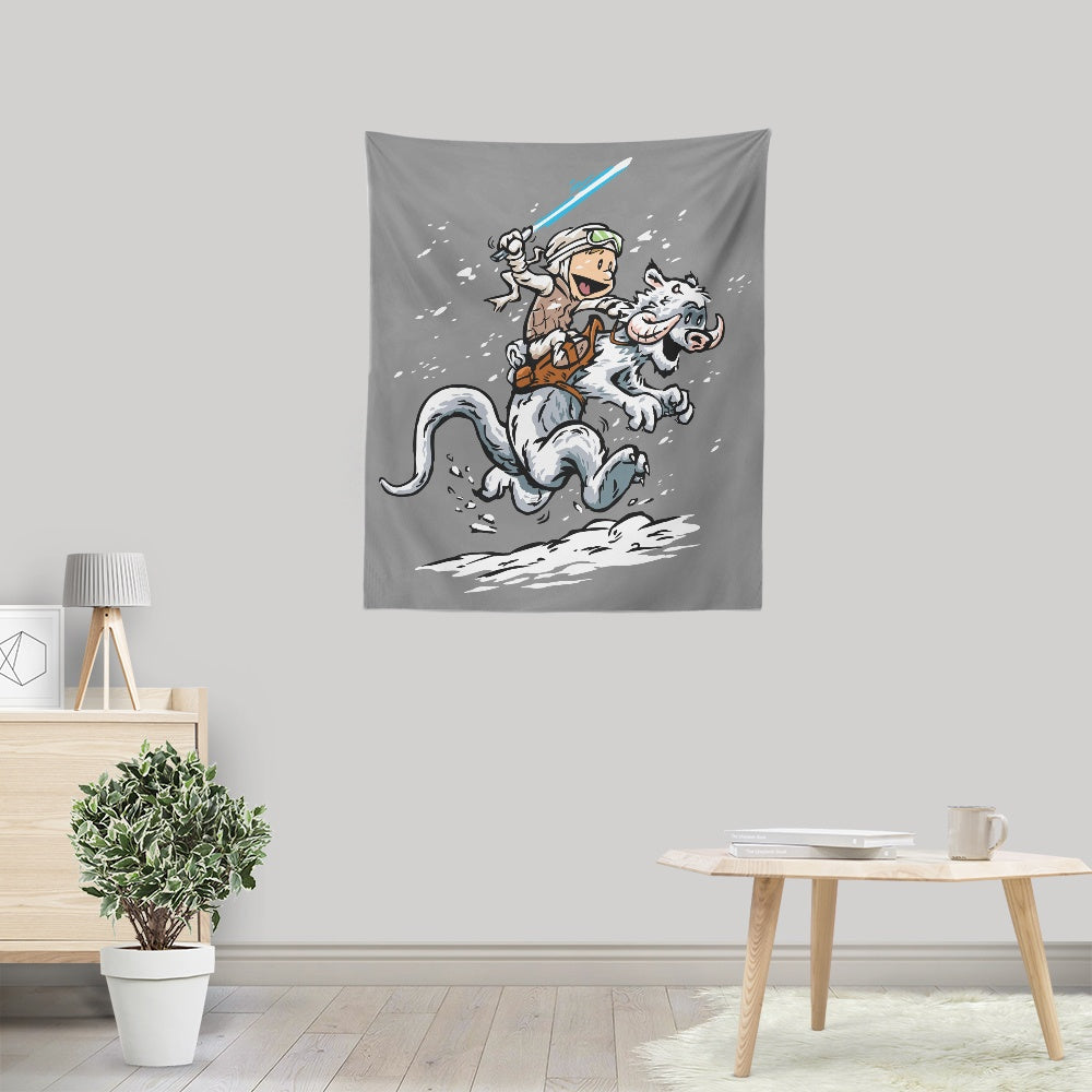 Calvin and Hoth - Wall Tapestry