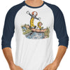 Can I Have My Boat (Classic) - 3/4 Sleeve Raglan T-Shirt
