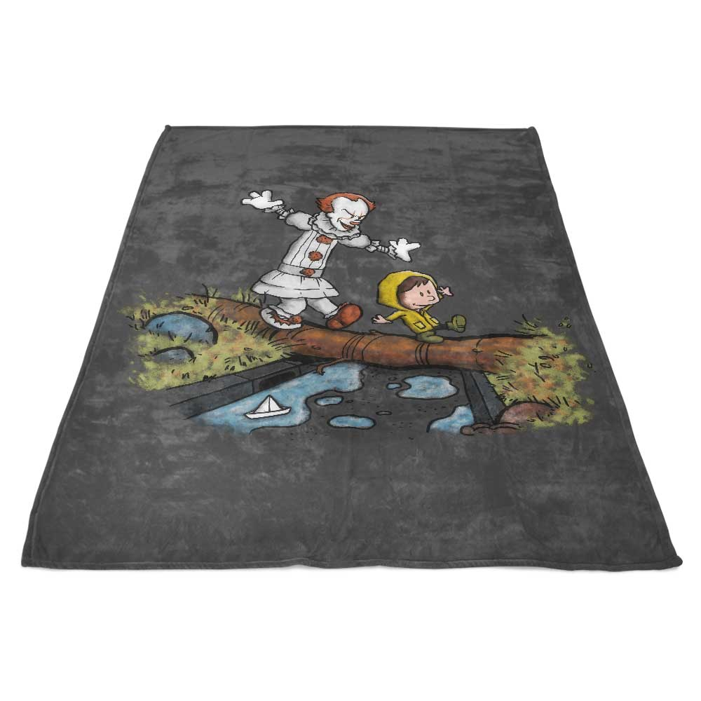 Can I Have My Boat - Fleece Blanket