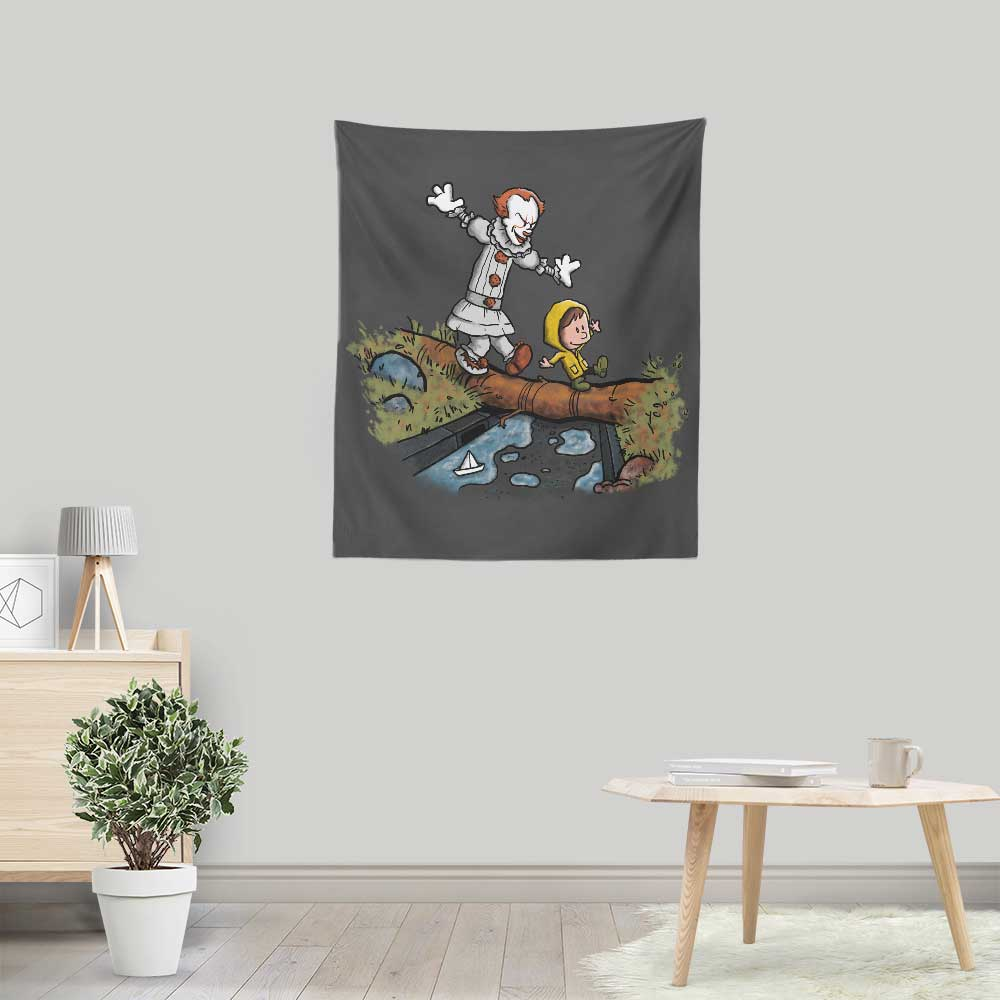 Can I Have My Boat - Wall Tapestry