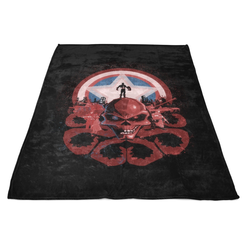 Captain's Nightmare - Fleece Blanket