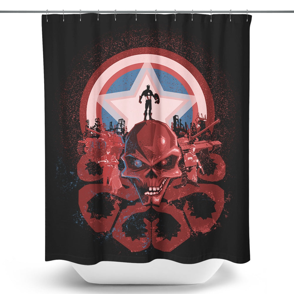 Captain's Nightmare - Shower Curtain