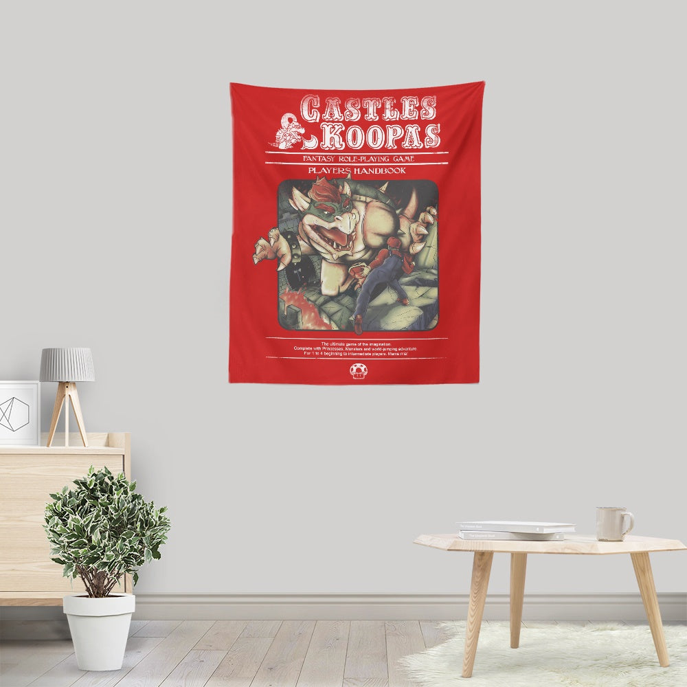 Castles and Koopas - Wall Tapestry