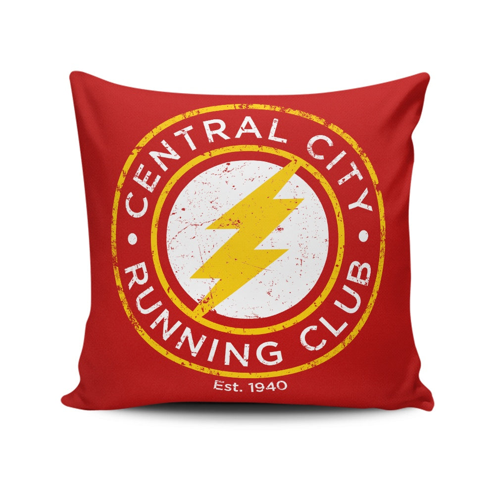 Central City Running Club - Throw Pillow