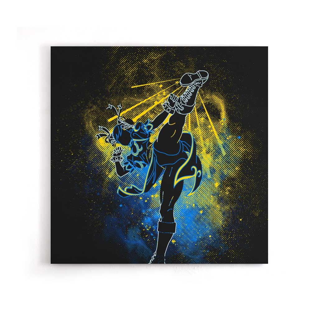 Chun Li Art - Canvas Print
