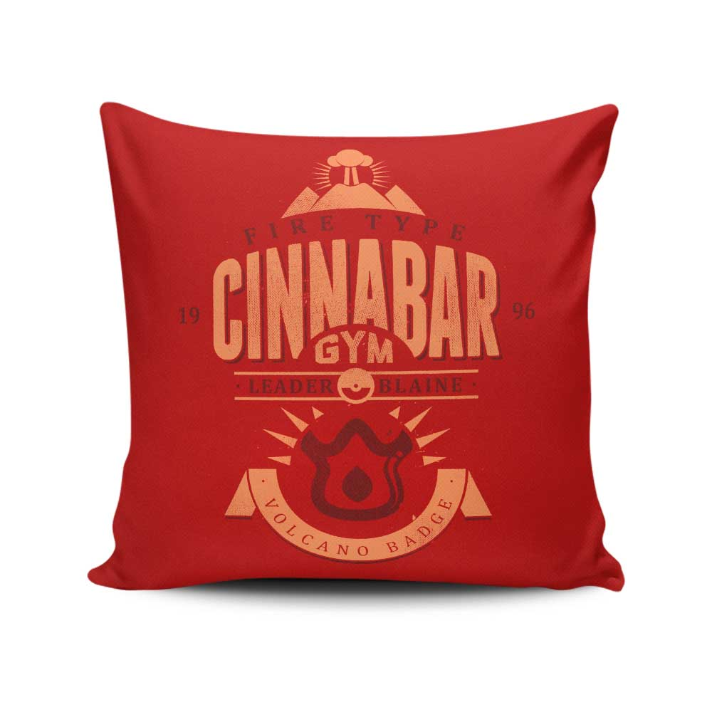 Cinnabar Island Gym - Throw Pillow