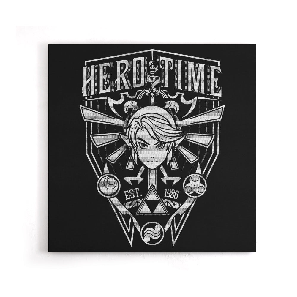 Classic Hero - Canvas Print