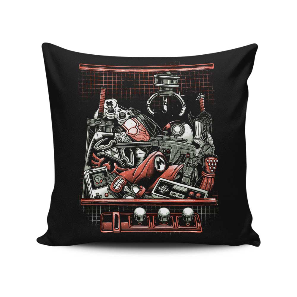 Claw Adventure - Throw Pillow