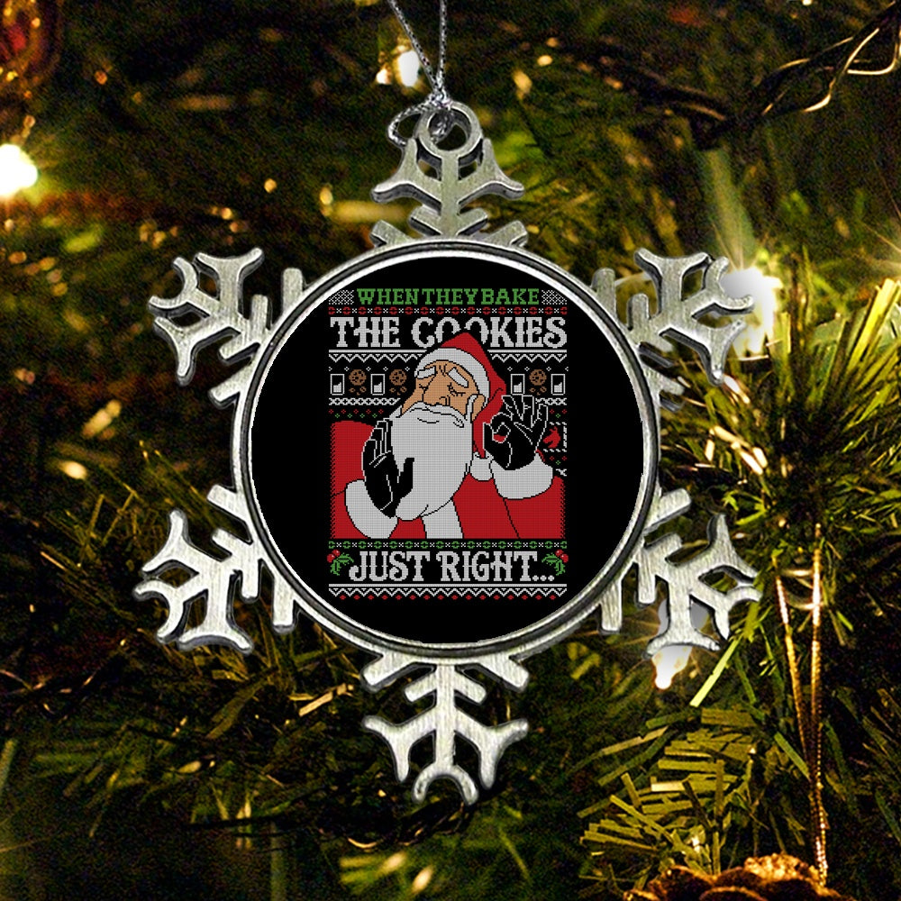 Cookies Just Right - Ornament