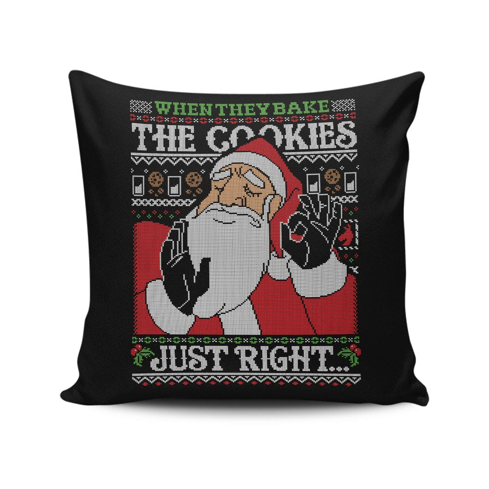 Cookies Just Right - Throw Pillow