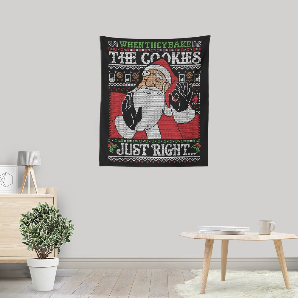 Cookies Just Right - Wall Tapestry