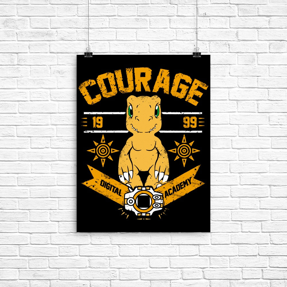 Courage Academy - Poster