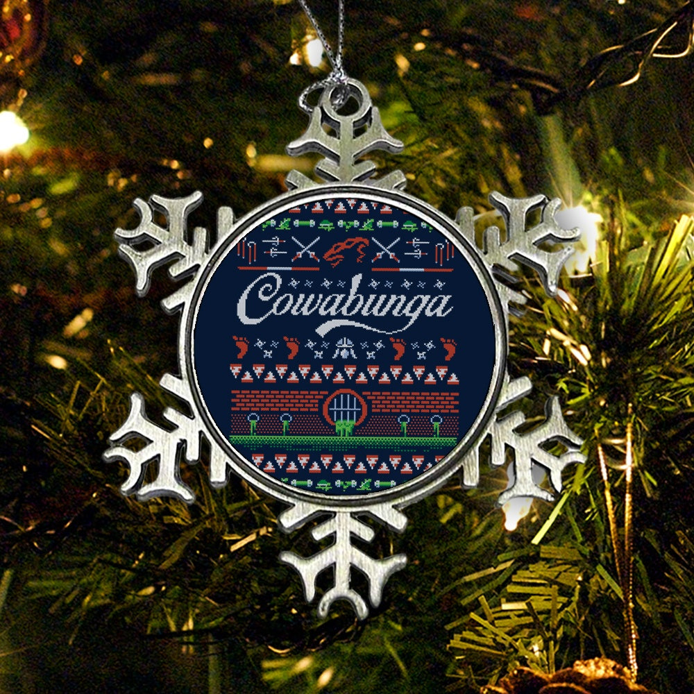 Cowabunga Christmas - Ornament