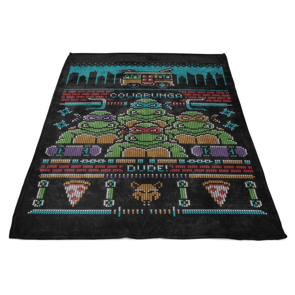 Cowabunga Dude - Fleece Blanket