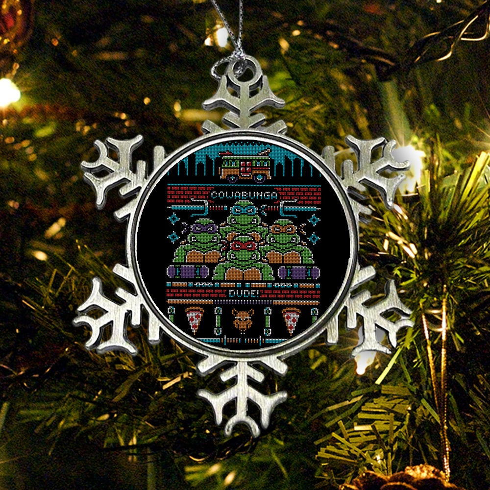 Cowabunga Dude - Ornament