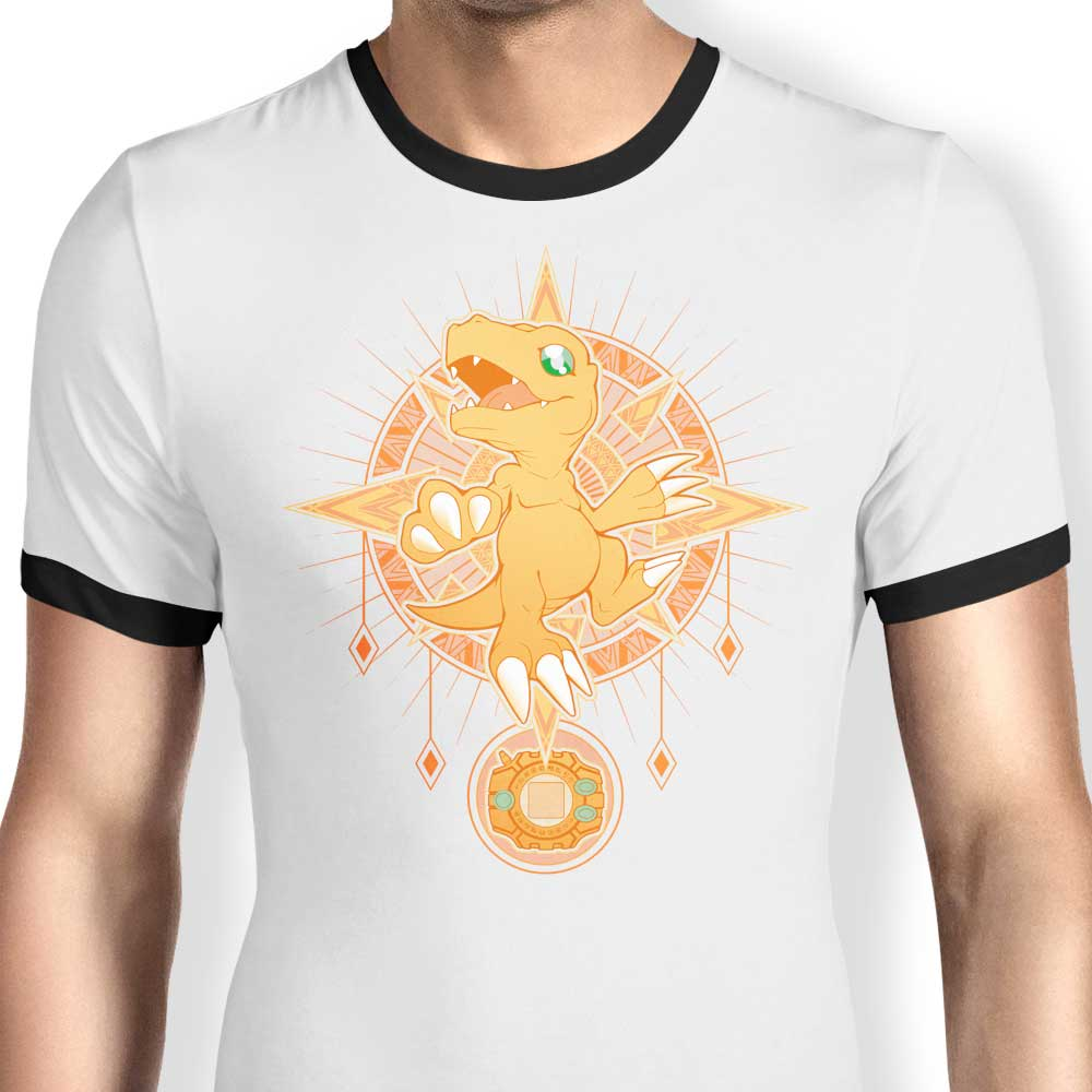 Crest of Courage - Ringer T-Shirt
