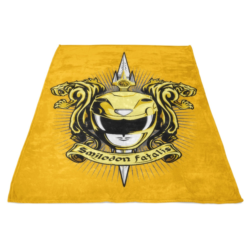 Croceus Smilodon Fatalis - Fleece Blanket