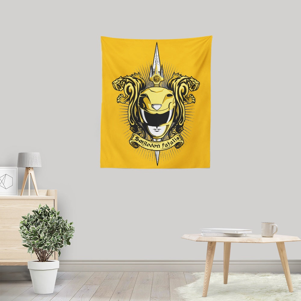 Croceus Smilodon Fatalis - Wall Tapestry