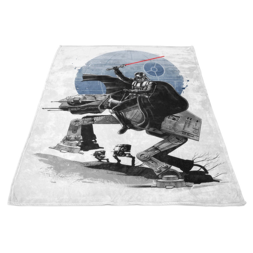 Crossing the Dark Path - Fleece Blanket