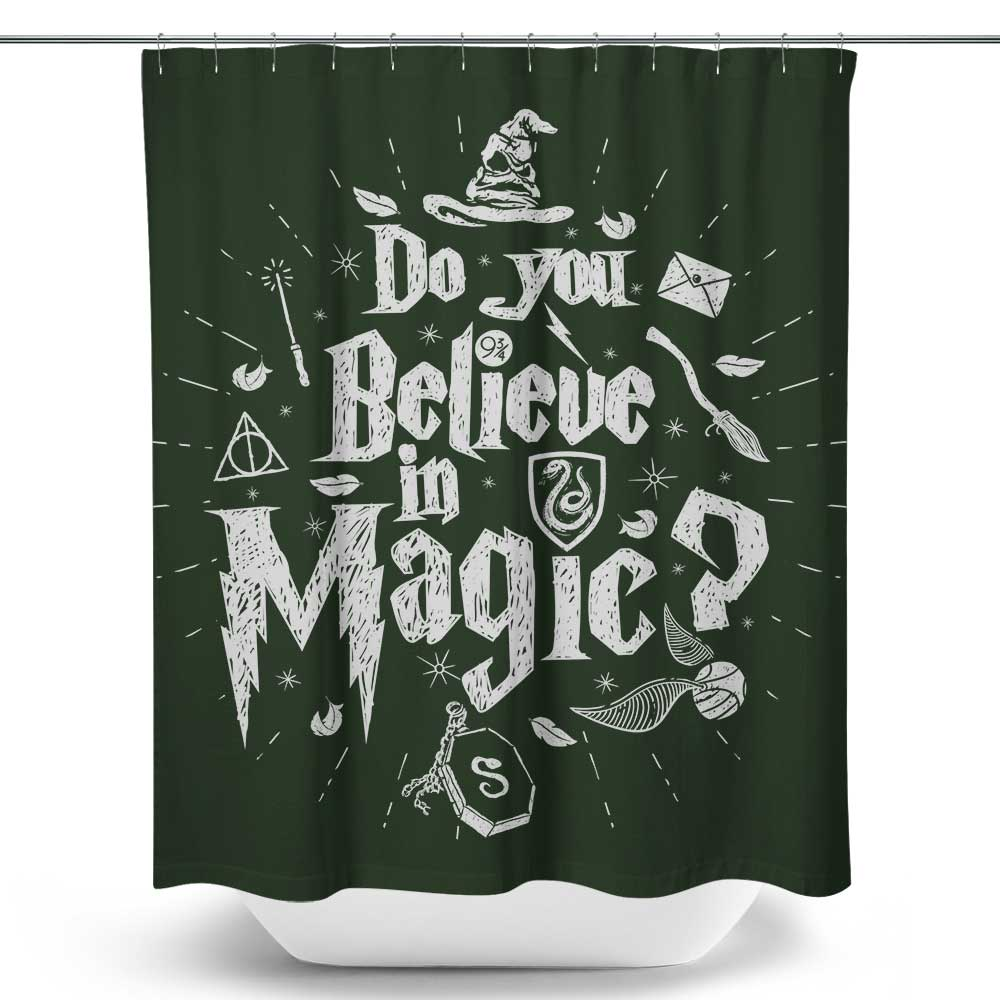 Cunning and Magic - Shower Curtain