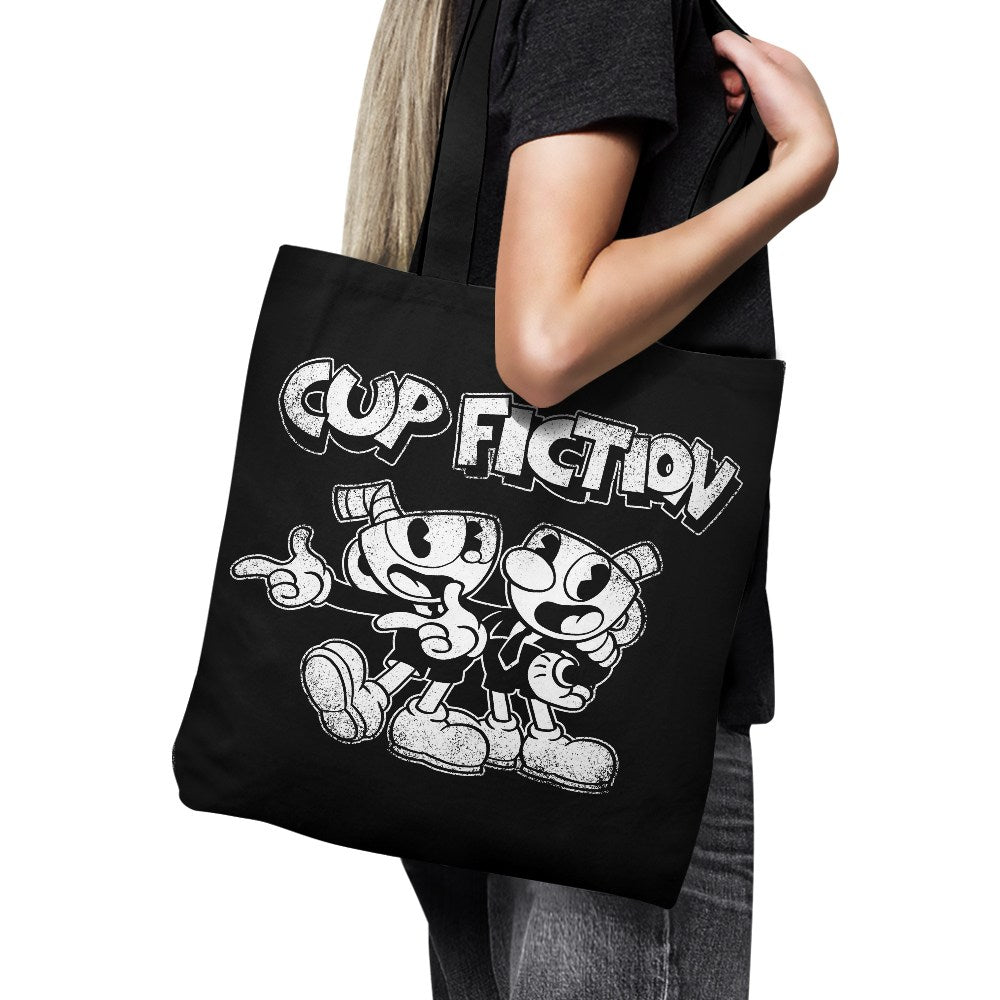 Cup Fiction - Tote Bag