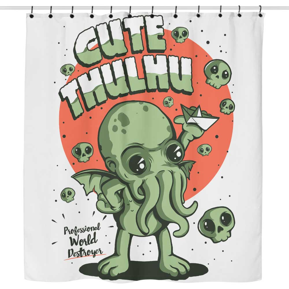 Cute-thulhu - Shower Curtain