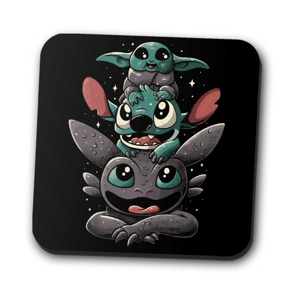 Cuteness Tower - Coasters