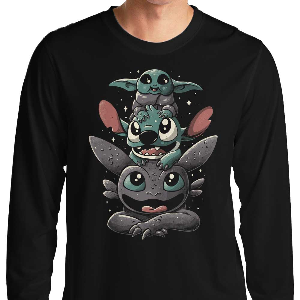 Cuteness Tower - Long Sleeve T-Shirt