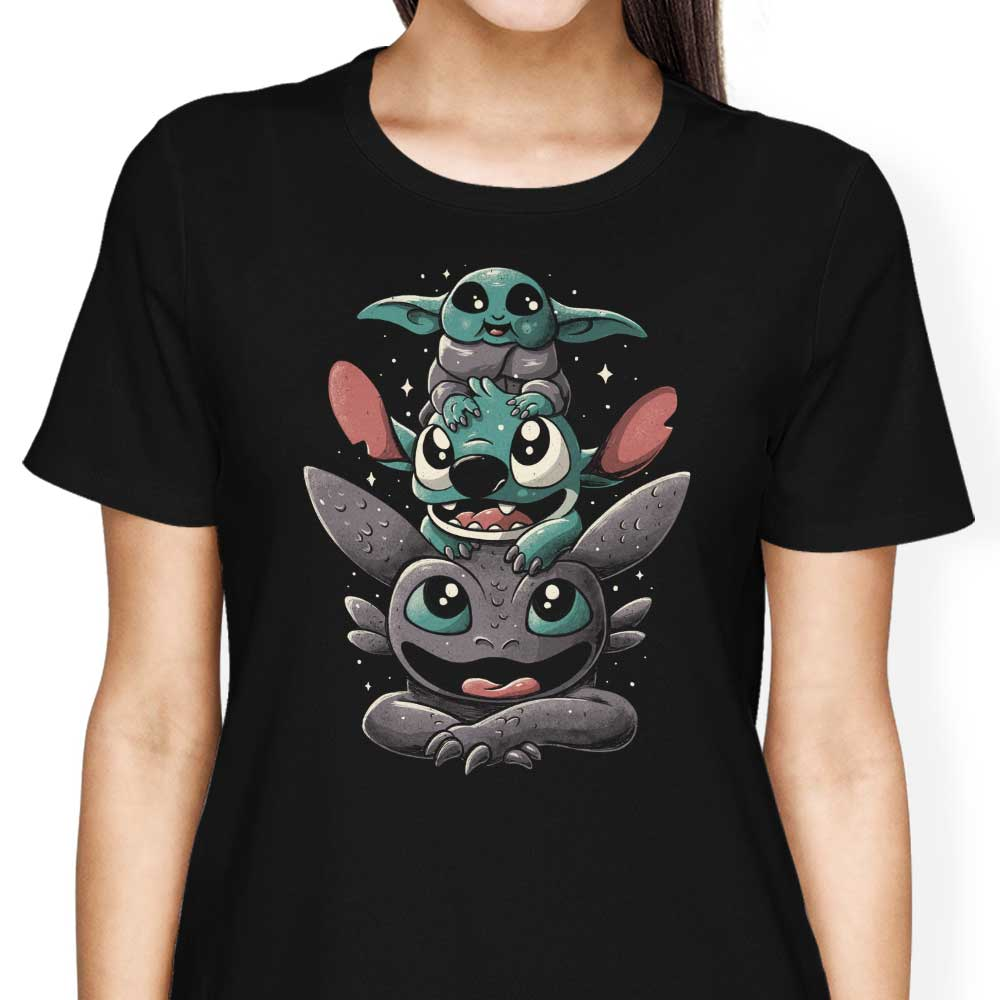Cuteness Tower - Women's Apparel