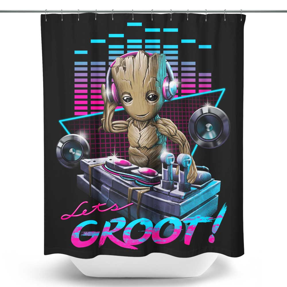 DJ Groot - Shower Curtain