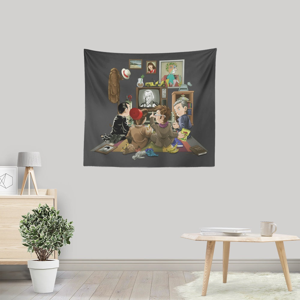 DW 50th - Wall Tapestry