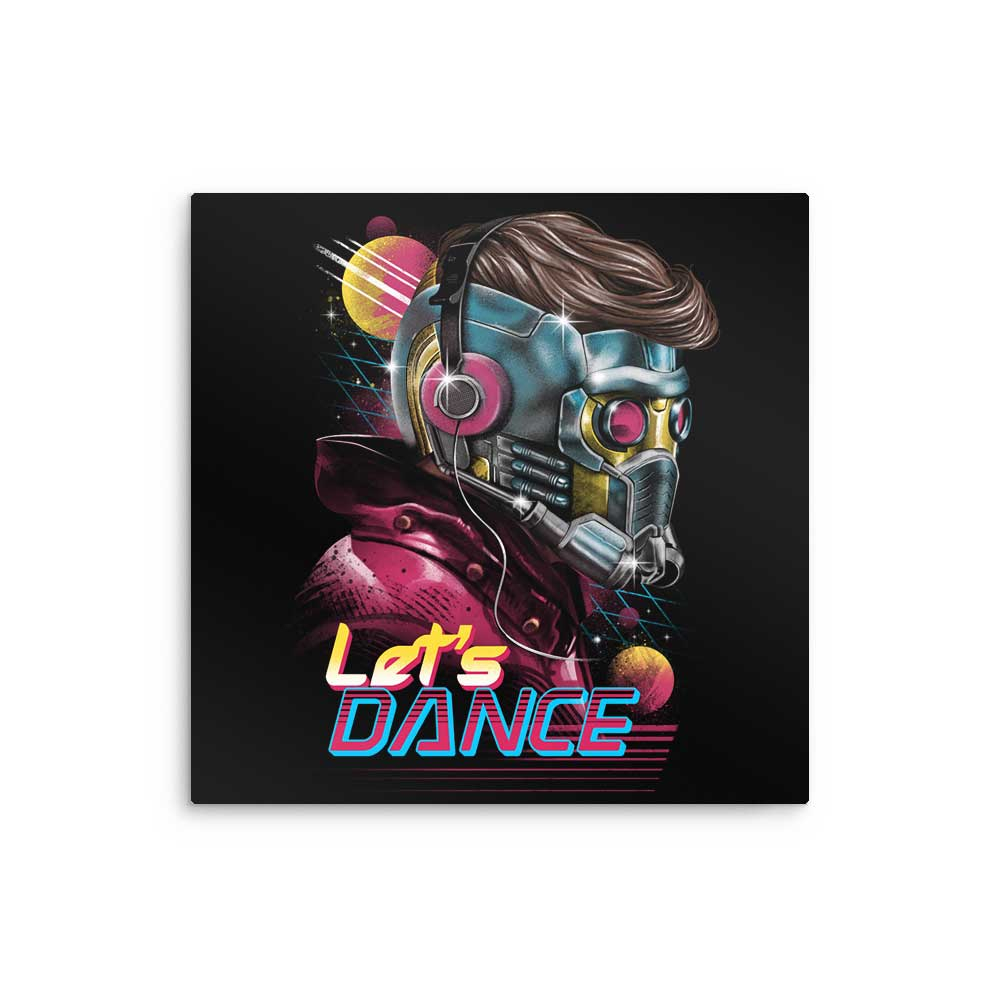 Dance Lord - Metal Print