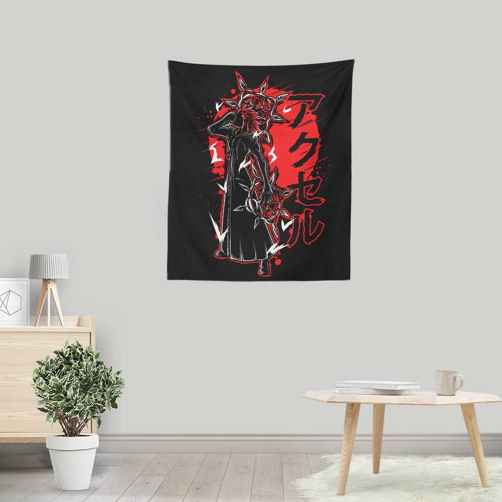 Dancing Flames Power - Wall Tapestry