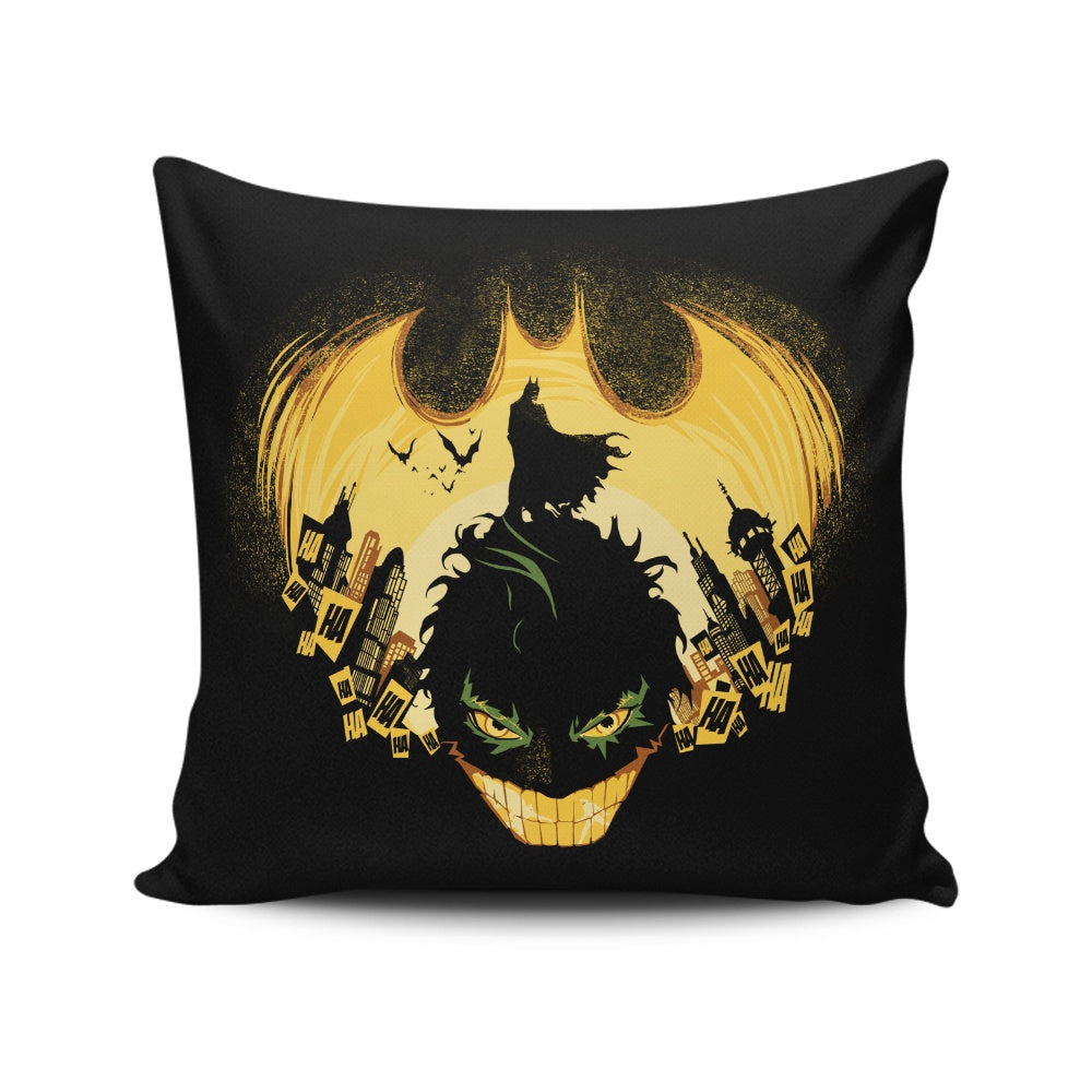 Dark Knightmare - Throw Pillow