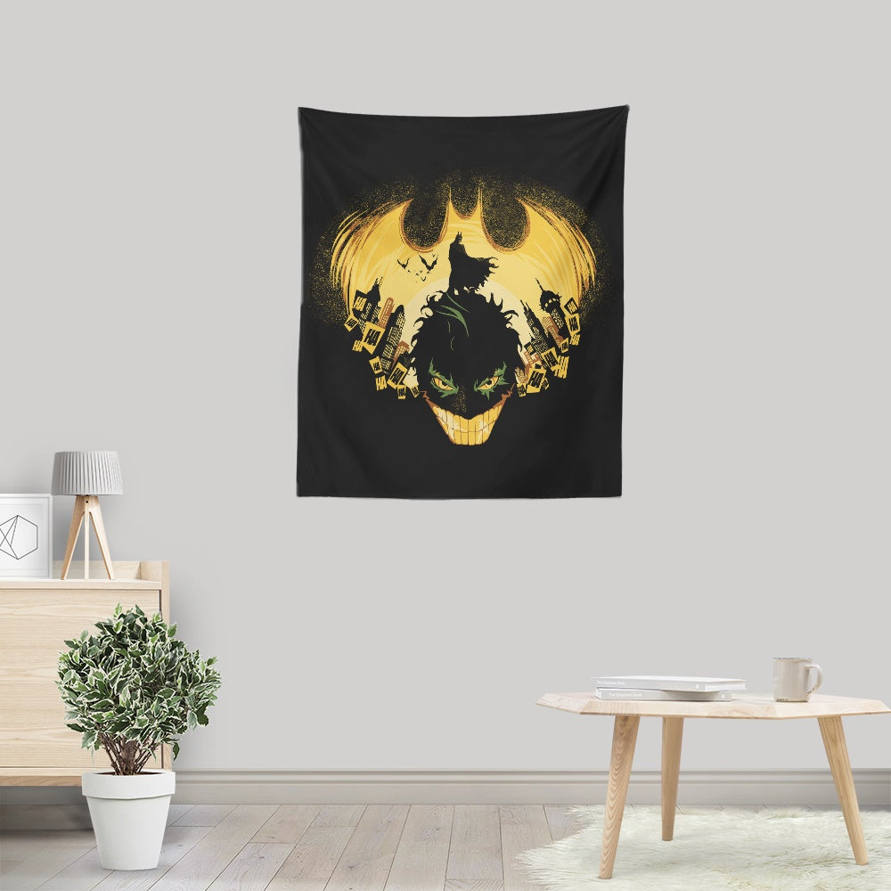 Dark Knightmare - Wall Tapestry