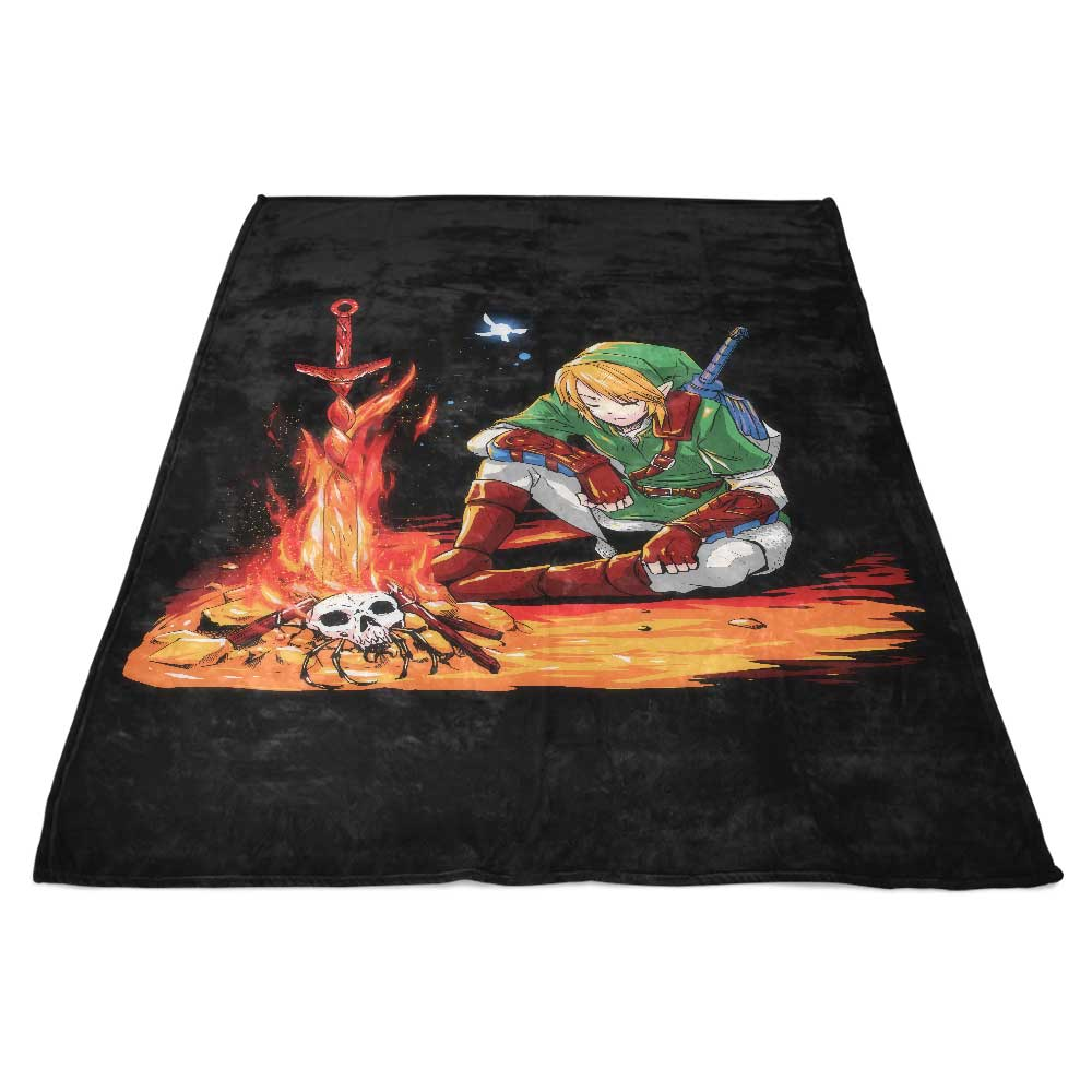 Dark Link - Fleece Blanket