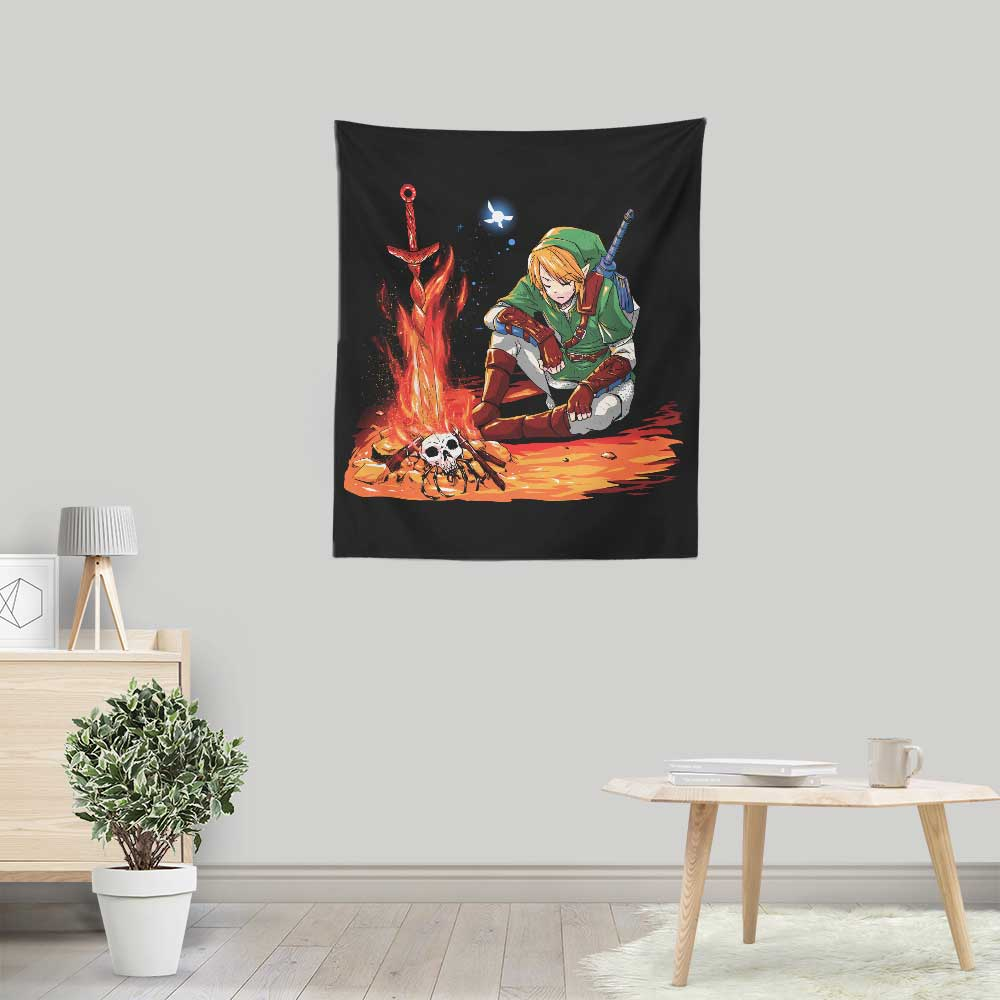 Dark Link - Wall Tapestry