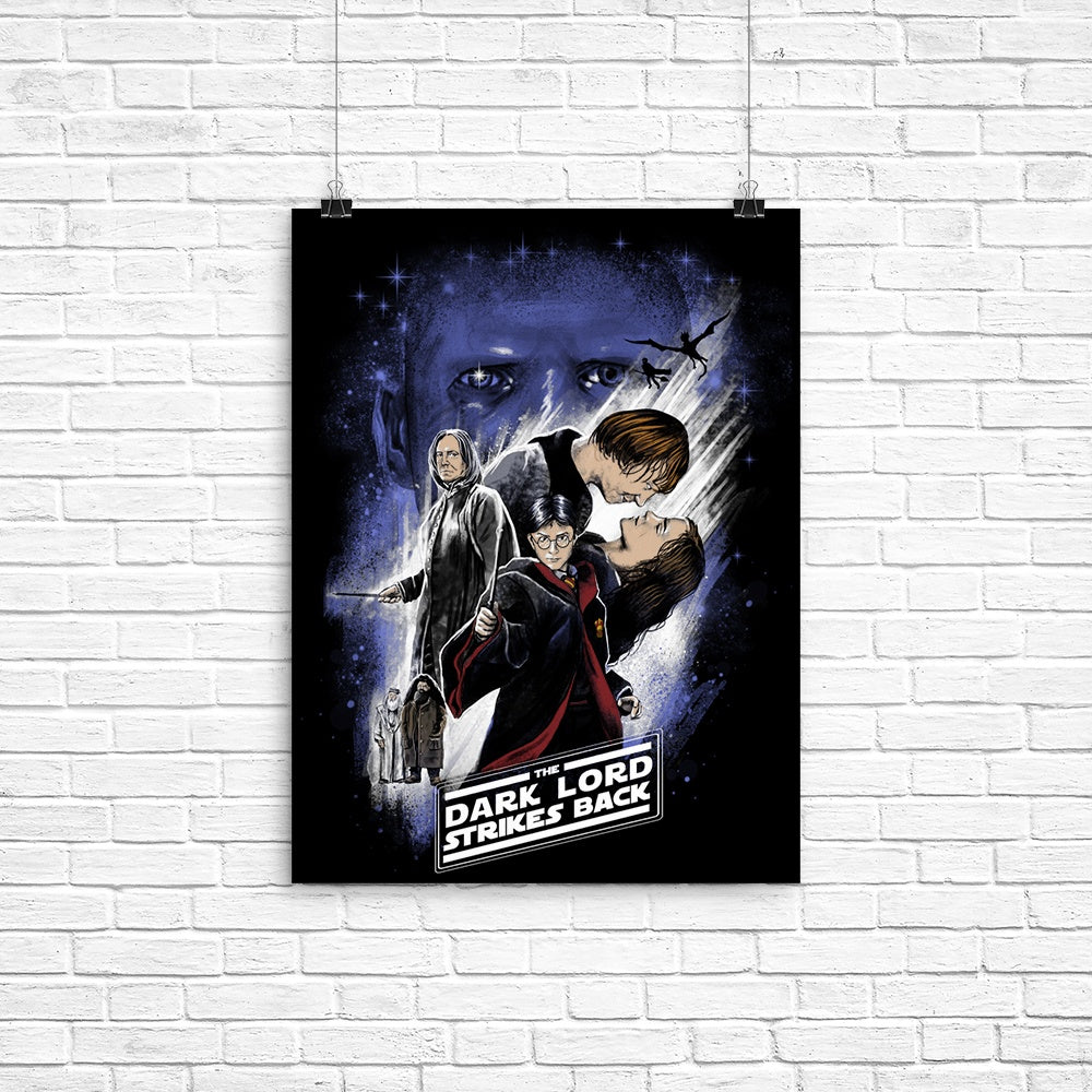 Dark Lord Strikes Back - Poster